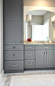 kitchen cabinets in bathroom