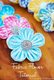 how to make kanzashi flowers easy