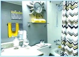 gray and yellow bathroom rug sets