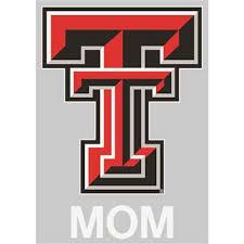 Texas Tech Red Raiders Transfer Decal Mom
