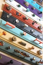 colorful unique hook rack pick one