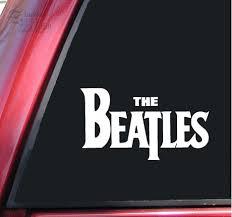 The Beatles Vinyl Decal Sticker White Tamika I Petruset