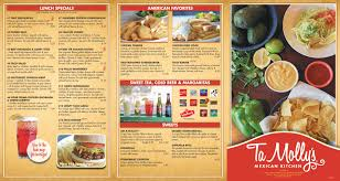 menu tamolly s mexican kitchen
