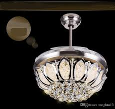 transpa abs crystal ceiling fan