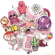 2020 Girl Cute Lovely Laptop Stickers Pink Decorative Stickers For Phone Cars Guitar Skateboard Snowboard Bicycle Stickers And Decals From Blake Online 4 64 Dhgate Com