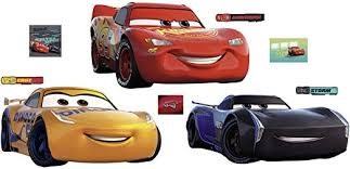 Amazon Com Fathead Cars 3 Collection Giant Officially Licensed Disney Pixar Removable Wall Decal Home Kitchen