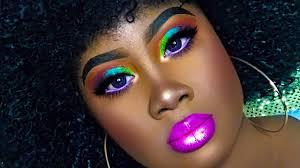 80 s neon makeup ideas saubhaya makeup