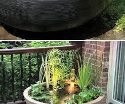 easy diy container water gardens