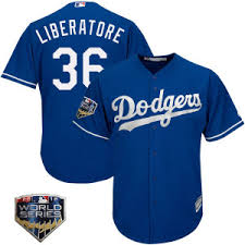 Men's Adam Liberatore Los Angeles Dodgers Player Authentic Royal ...