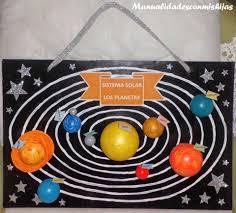 Manualidades Con Mis Hijas El Universo Y Nuestro Sistema Solar