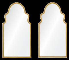 bianca wall mirror gold leaf decorist
