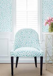 fabric tanzania in turquoise wallpaper
