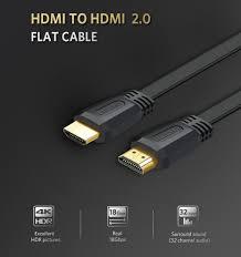 Cáp HDMI dài 2m dẹt hỗ trợ 4K Ugreen 70159