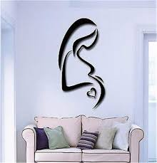 Amazon Com Vinyl Decal Quote Art Wall Sticker Mirror Decal Birth Pregnancy Pregnant Mother And Baby Home Kitchen
