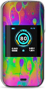 Amazon Com It S A Skin Decal Vinyl Wrap Compatible With Vaporesso R Luxe Nano Kit Vape Stickers Skins Overlay Trippy Tie Die Colors Dripping Lava