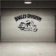Harley Davidson Emblem Wall Sticker Wall Sticker Usa