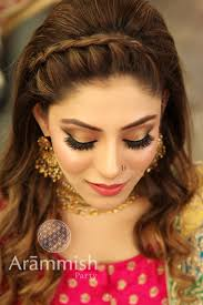 party makeup and hairstyle in stan