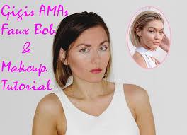 faux bob spring makeup tutorial