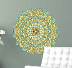 Floral Mandala Wall Sticker Tenstickers