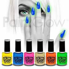 uv neon nail polish glow in the dark