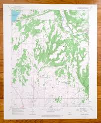Antique Dolores West Colorado 1965 US Geological Survey | Etsy