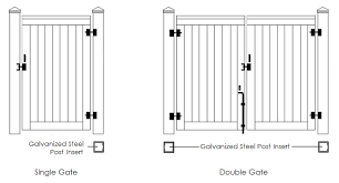 Trex Gate Drawings Trex Fencing The Composite Alternative To Wood Vinyl