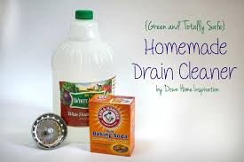 homemade drain cleaner totally green