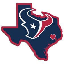 Houston Texans Home State Vinyl Auto Decal Nfl Texas Shape Fanaticsworldwide