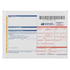 priority mail express label usps