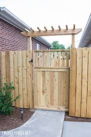 diy garden gate ideas projects