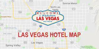 las vegas strip hotel map 2020 las