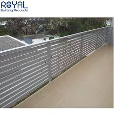 China Decorative Luxury Modern Terrace Designs Deck Railing Panels Balcony Aluminum Railings China Balustrade Handrails And Balcony Railing Price