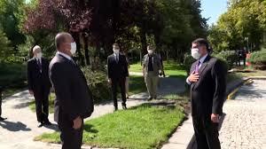 Son dakika haberi | Dışişleri Bakanı Çavuşoğlu, Kuzey Makedonya Anayasa  Mahkemesi Başkanı Salih Murat'ı ka... - Haberler - Haber Ofisi