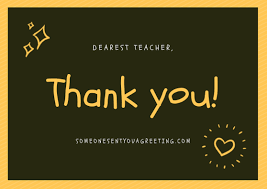 thank you messages for teachers to show your appreciation