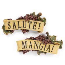 Design Toscano 2 Piece Salute And Mangia Wall Decor Set Reviews Wayfair