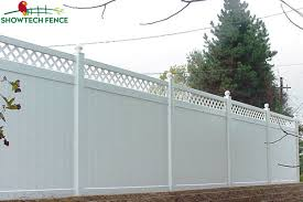 China Perfect Looking 6 H 8 W Pvc Plastic Garden Privacy Lattice Fence Panels China Vinyl Fence Pool Fence