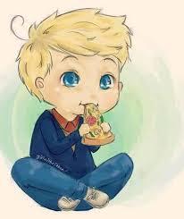beautiful boy cute and drawing