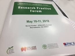 """Priscilla Enriquez on Twitter: """"""""Being more intentional in the outcomes we  want to achieve"""" @officialSCUSD Supt Aguilar #ResearchPracticeForum on  #education #equity @sacregcf @CollegeFutures #CapitalAreaPromiseScholars…  https://t.co/fhmBsi97uo"""""""