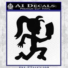 Hatchet Girl Decal Sticker Icp A1 Decals