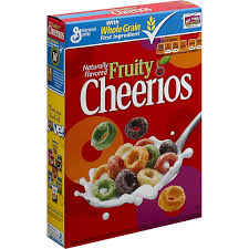 fruity cheerios gluten free breakfast