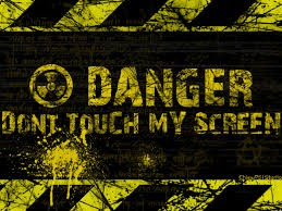 free danger dont touch my