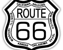 Route 66 Decal Etsy