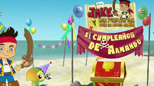 Jake Y Los Piratas Invitacion Al 5to Cumpleanos De Armando Youtube