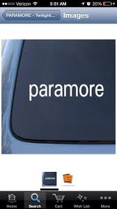 Does Anyone Know Where You Can Buy A Paramore Car Decal I Ve Tried Amazon But This Picture Is All They Have I Ve Looked On Paramore Website But Nothing I Want To Buy