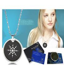 black quantum pendant