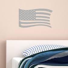 Vwaq Distressed American Flag Vinyl Decal Color Choice Us Flag Vinyl S