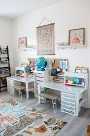 Craft Room Turned Distance Learning Homeschool Room