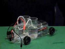 hydrogen fuel cell car experimental