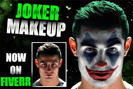 edit your face into joker face by tp games