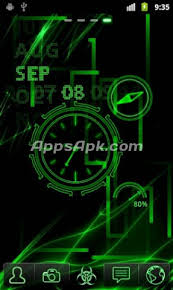 neon clock live wallpaper apk